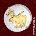 2012 Kanada, Los (pozlačen), 5 CAD, 1oz