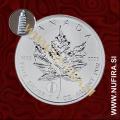 2012 Kanada, Javorjev list (PRIVY) Pisa, 5 CAD, 1oz