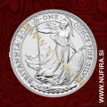2013 Anglija, Britannia, 2 GBP, 1oz