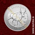 2013 Kanada, Antilopa, 5 CAD, 1oz