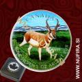 2013 Kanada, Antilopa (barvni), 5 CAD, 1oz