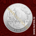 2013 Kanada, Bizon, 5 CAD, 1oz
