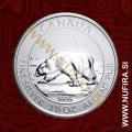 2013 Kanada, Polarni medved, 8 CAD, 1.5 oz