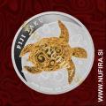 2013 Fiji, Taku (pozlačen), 2 Dollars, 1oz