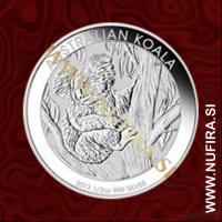 2013 Avstralija, Koala, 0,50 AUD, 1/2 oz