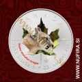 2014 Kanada, Javorjev list (07/10 Puma, barvni), 5 CAD, 1oz