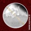 2015 Niue, Lunar, Koza, 2 NZD, 1oz