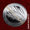 2016 Fiji, Iguana, 1 Dollar, 1oz