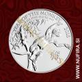 2016 Velika Britanija, Lunar, Opica, 2 GBP, 1oz