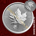 2017 Kanada, Javorjev list (PRIVY) Puma, 5 CAD, 1oz