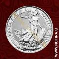 2017 Anglija, Britannia, 2 GBP, 1oz