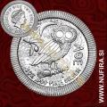 2018 Niue, Sova, 2 Dollars, 1oz