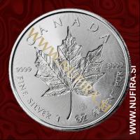 2018 Kanada (Javorjev list), Incuse, 5 CAD, 1oz
