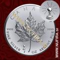 2018 Kanada, Javorjev list (PRIVY) Edison, 5 CAD, 1oz