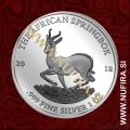 2018 Gabon, Springbok, 1000 FRANCS CFA, 1oz