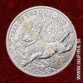 2018 Velika Britanija, Lunar, Pes, 2 GBP, 1oz