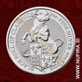 2018 Velika Britanija, Black Bull of Clarence, 5 GBP, 2oz