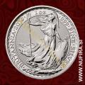 2019 Anglija, Britannia, 2 GBP, 1oz
