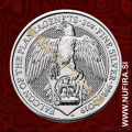2019 Velika Britanija, Falcon of the Plantagenets, 5 GBP, 2oz