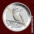 2021 Avstralija, Kookaburra, 1 AUD, 1oz