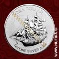 2018 Cookovi otoki, Bounty, 1 DOLLAR, 1oz
