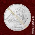 2012 Cookovi otoki, Bounty, 50 CENTS, 1/2 oz