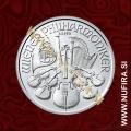 2018 Avstrija, Dunajski Filharmonik, 1.50 EUR, 1oz