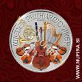 2013 Avstrija, Dunajski Filharmonik (barvni), 1.50 EUR, 1oz