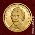 2013 Tanzanija, David Livingstone, 1500 Shillings, 0.5 g, zlato