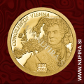 2014 Cookovi otoki, Congress of Vienna, 1 DOLLAR, 0.5 g, zlato