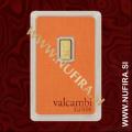 Valcambi Suisse, 1 g, zlato